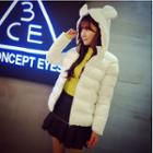 Ear Hood Padded Jacket