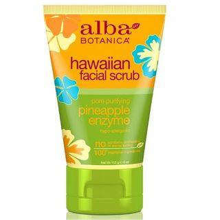 Alba Botanica - Hawaiian Pineapple Enzyme Facial Scrub 4 Oz 4oz / 113g