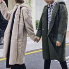 Couple Hooded Long Coat