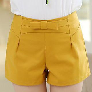 Bow Waist Shorts