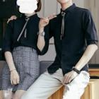 Couple Matching Students Style Shirt