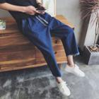 Baggy Cropped Jeans