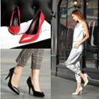 High-heel Genuine Leather Pumps