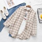 Check Shirt Almond - One Size