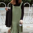 Jumper Pleated Dress