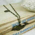 Vinatge Big Fish Necklace