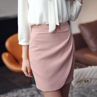 Wrap-front Skirt