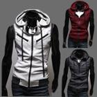 Zip Hooded Vest
