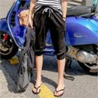 Cropped Sweat Pants