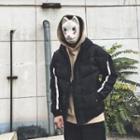 Strip Trim Hooded Padded Jacket