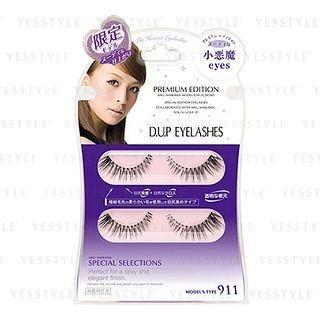 D-up - Eyelashes (#911 Premium Edition Small Devil Eyes) 2 Pairs