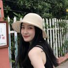 Foldable Knit Sun Hat