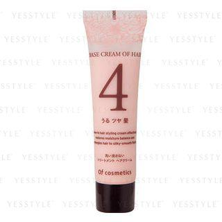 Of Cosmetics - Base Cream Of Hair 4 Moisturizing Smooth Hair Leave-in Styling Cream (rose Bouquet Scent) 35g
