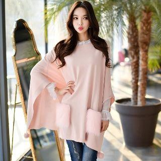 Cape Knit Top