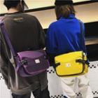 Couple Matching Nylon Messenger Bag