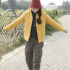 Hooded Frog Buttoned Jacket