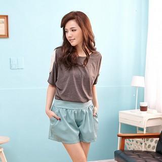 Plain Elasticized Shorts