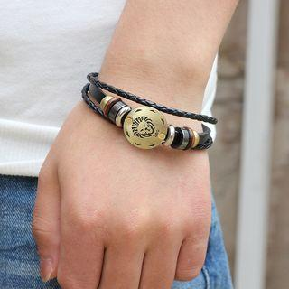 Zodiac Braided Bracelet