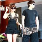 Leopard Print Couple Bikini / Shorts
