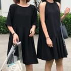 Sleeveless Dress / Short-sleeve Dress
