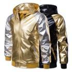 Raglan Hooded Zip Jacket