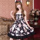 Sleeveless Printed Mini A-line Dress
