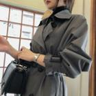 Belted Cotton Classic Trench Coat
