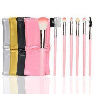 Set: Makeup Brush With Case