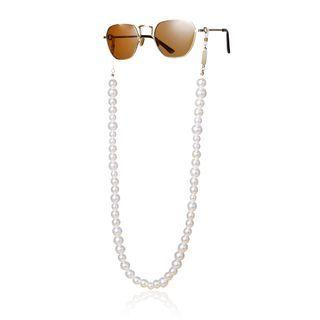 Faux Pearl Eyeglasses Chain 0020 - Gold - One Size