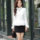 Padded Ruffled Jacket