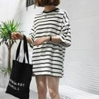Loose-fit Striped Tee