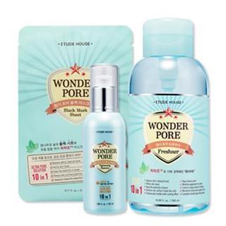 Wonder Pore Special Set : Freshener 500ml + Essence 50ml + Mask Sheet 1pc