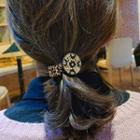 Rhinestone Leopard Hair Tie