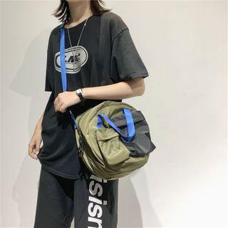 Buckled Crossbody Messenger Bag