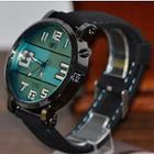 Oversized Led Strap Watch
