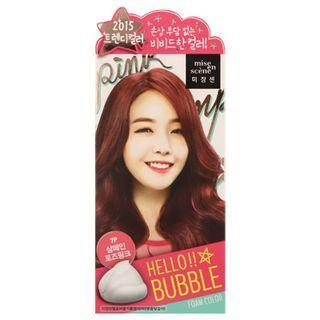 Miseensc Ne - Hello Bubble Foam Hair Color (7p Champagne Rose Pink)