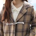 Plaid Flannel Duffle-coat