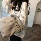 Long Sleeve Print Loose Pullover