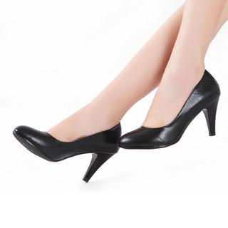 Genuine Leather Pumps