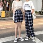 Plaid Pants / Shorts