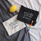 Embroidered Make Up Pouch