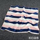 Striped Satin Square Scarf (50*50cm)