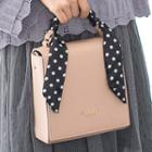 Flap Cross Bag With Scarves