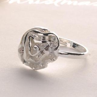 Rose Ring Silver - One Size