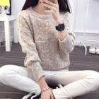 M Lange Crewneck Sweater