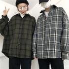 Couple Plaid Flannel Shirt