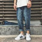 Printed Baggy Jeans