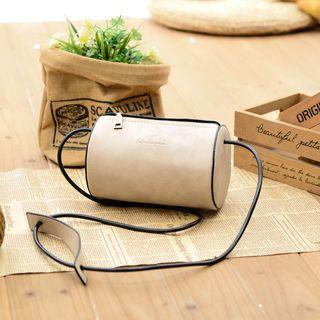 Cylinder Shape Crossbody Bag