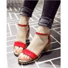 Ankle Strap Patent Sandals