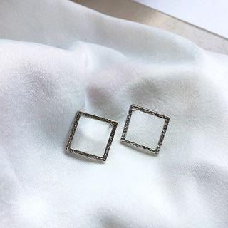 Square Earring 1 Pair - Earrings - One Size